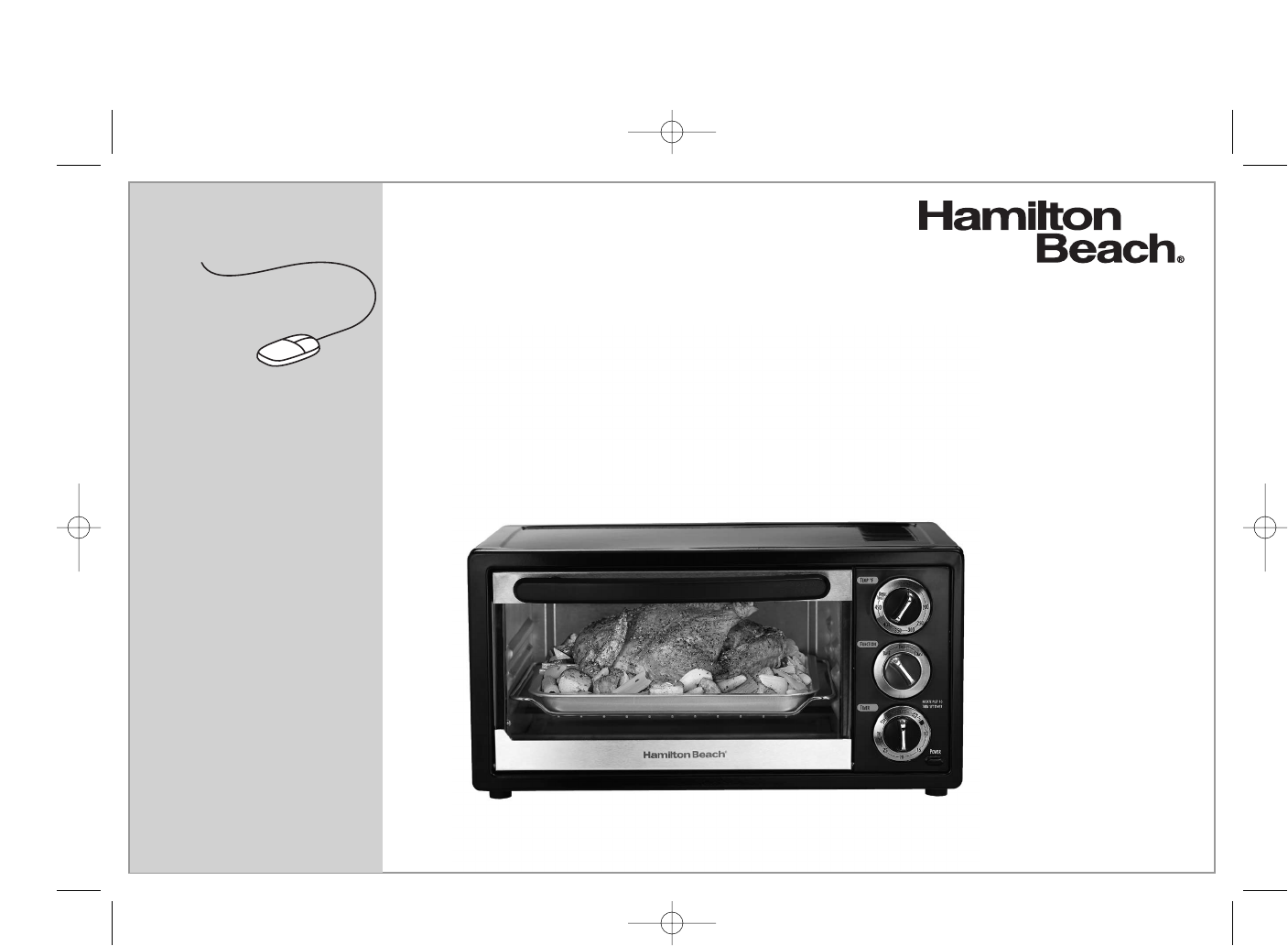 Food Network Countertop Convection Oven Manual : Hamilton Beach Oven 31507 User Guide ManualsOnline.com