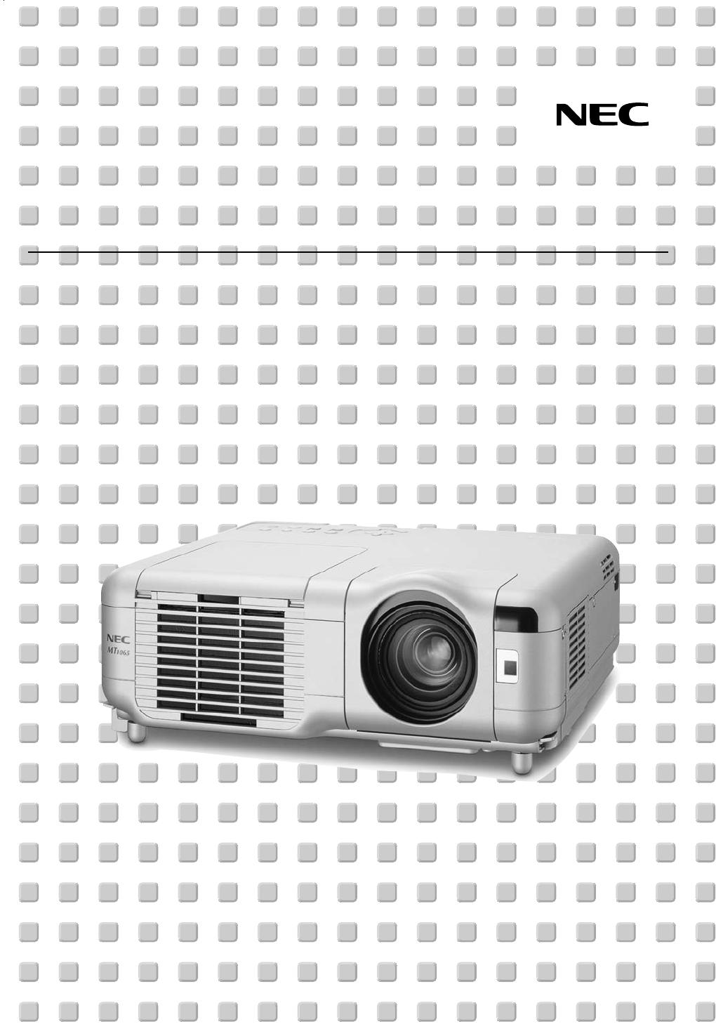 nec projector mt1060 user guide manualsonline com rh manualsonline com LCD Projector Screen epson lcd projector user manual