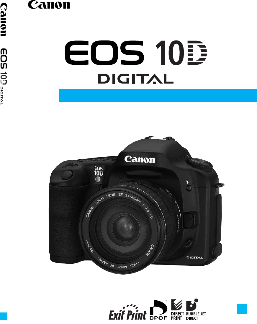 canon camcorder eos 10d user guide manualsonline com rh camera manualsonline com canon eos 100d manual download canon eos 10d manual download