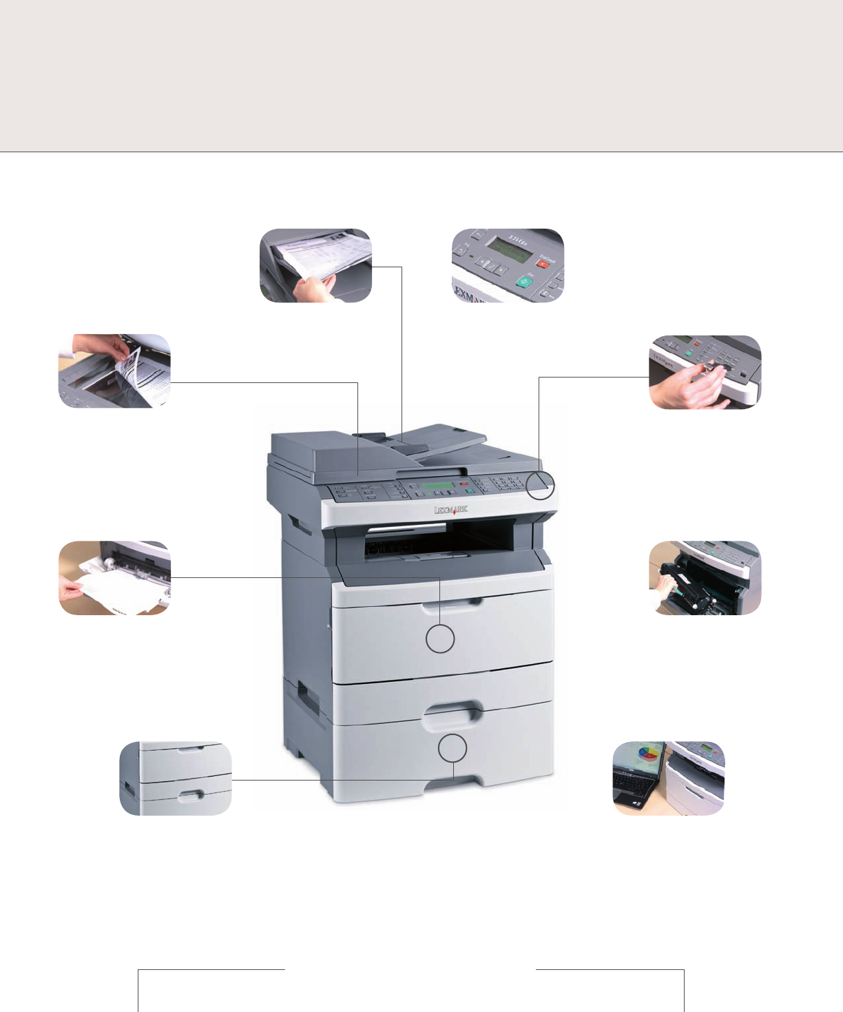 page 3 of lexmark all in one printer x264dn user guide rh office manualsonline com lexmark x264dn printer service manual lexmark x264dn printer service manual