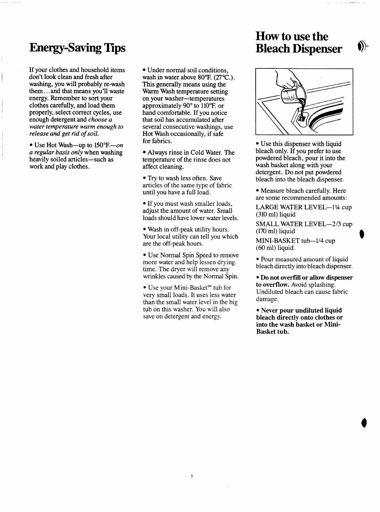 Page 8 of GE Washer 113D5497P183 User Guide | ManualsOnline com
