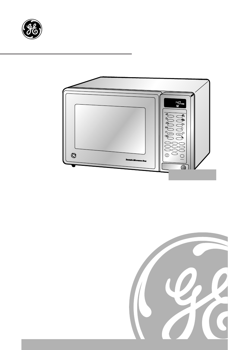 ge microwave oven jes1144wy user guide manualsonline com rh kitchen manualsonline com GE Microwave Ovens Countertop GE Microwave Ovens