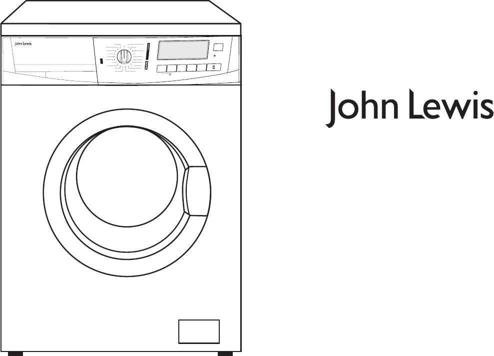 John Lewis Washer JLWM40 User Guide ManualsOnline Stunning John Lewis Mini Sewing Machine Instruction Manual Pdf
