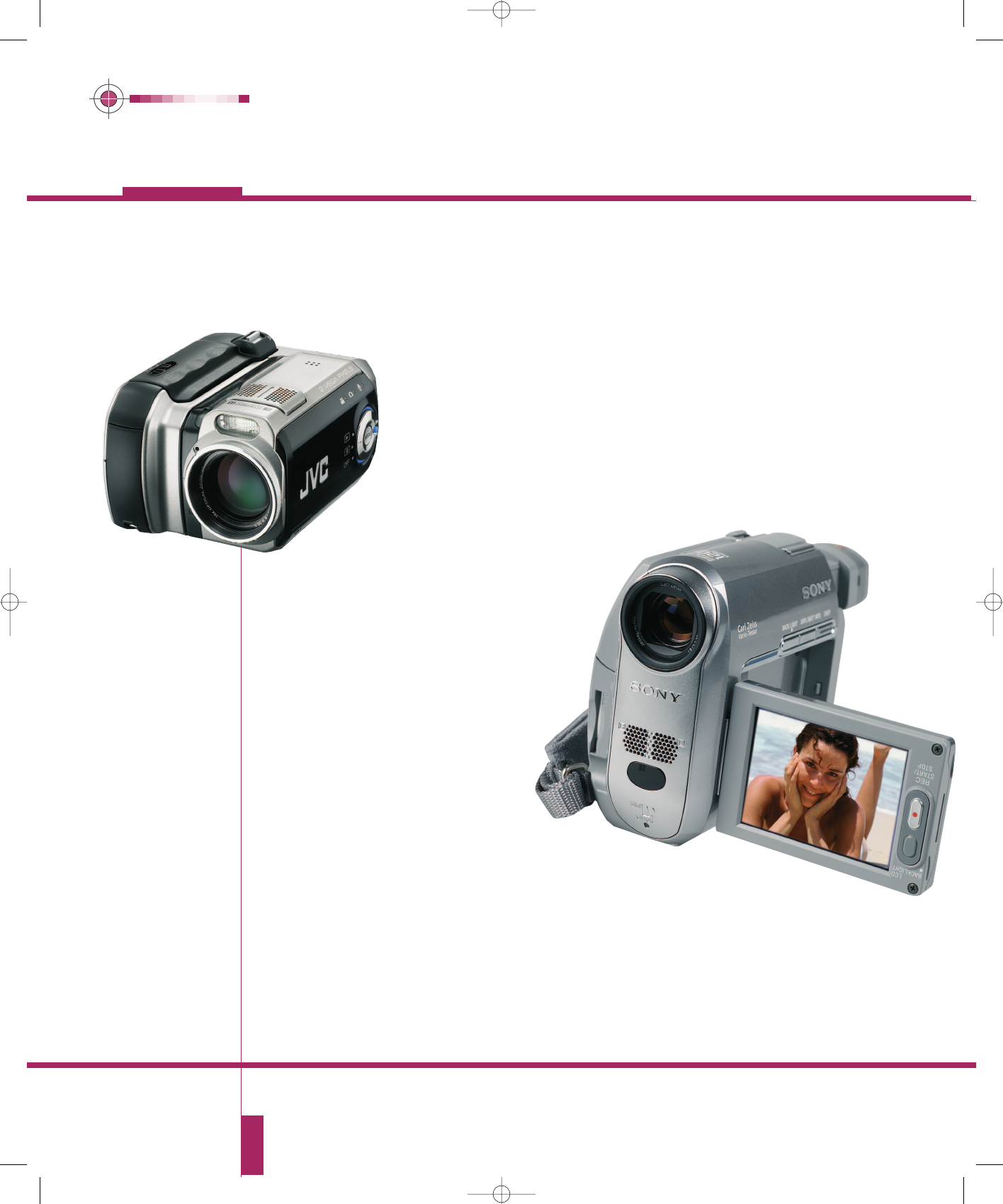JVC DCR-HC40 Camcorder User Manual