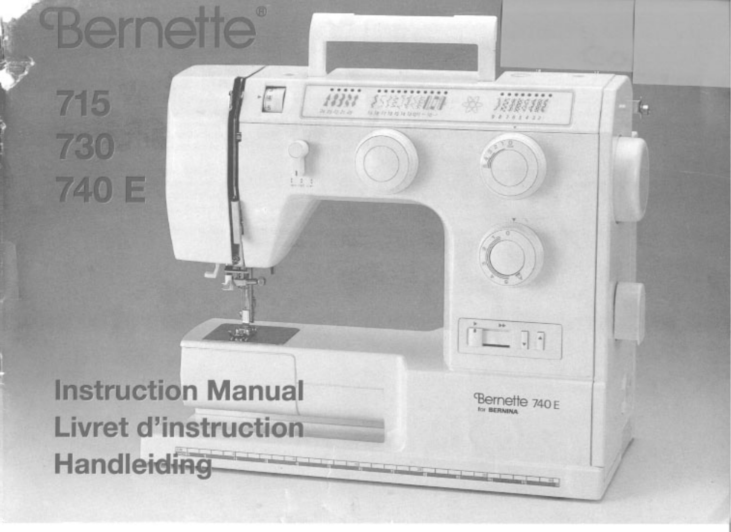 Bernina Sewing Wiring Diagram Reinvent Your Installation Book Together With 1948 Chevy Truck Machine 715 User Guide Manualsonline Com Rh Homeappliance Ridgeland Ms 830