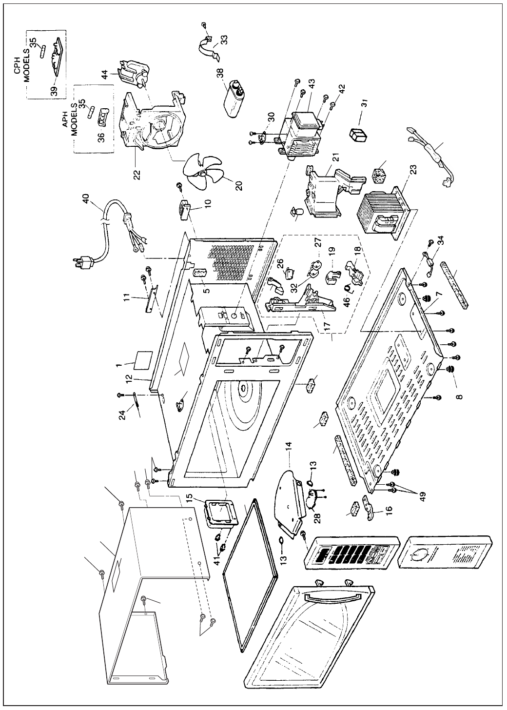Page 2 Of Panasonic Microwave Oven Ne 1024f User Guide