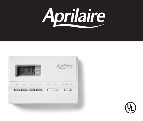 aprilaire thermostat 8446 installation manual