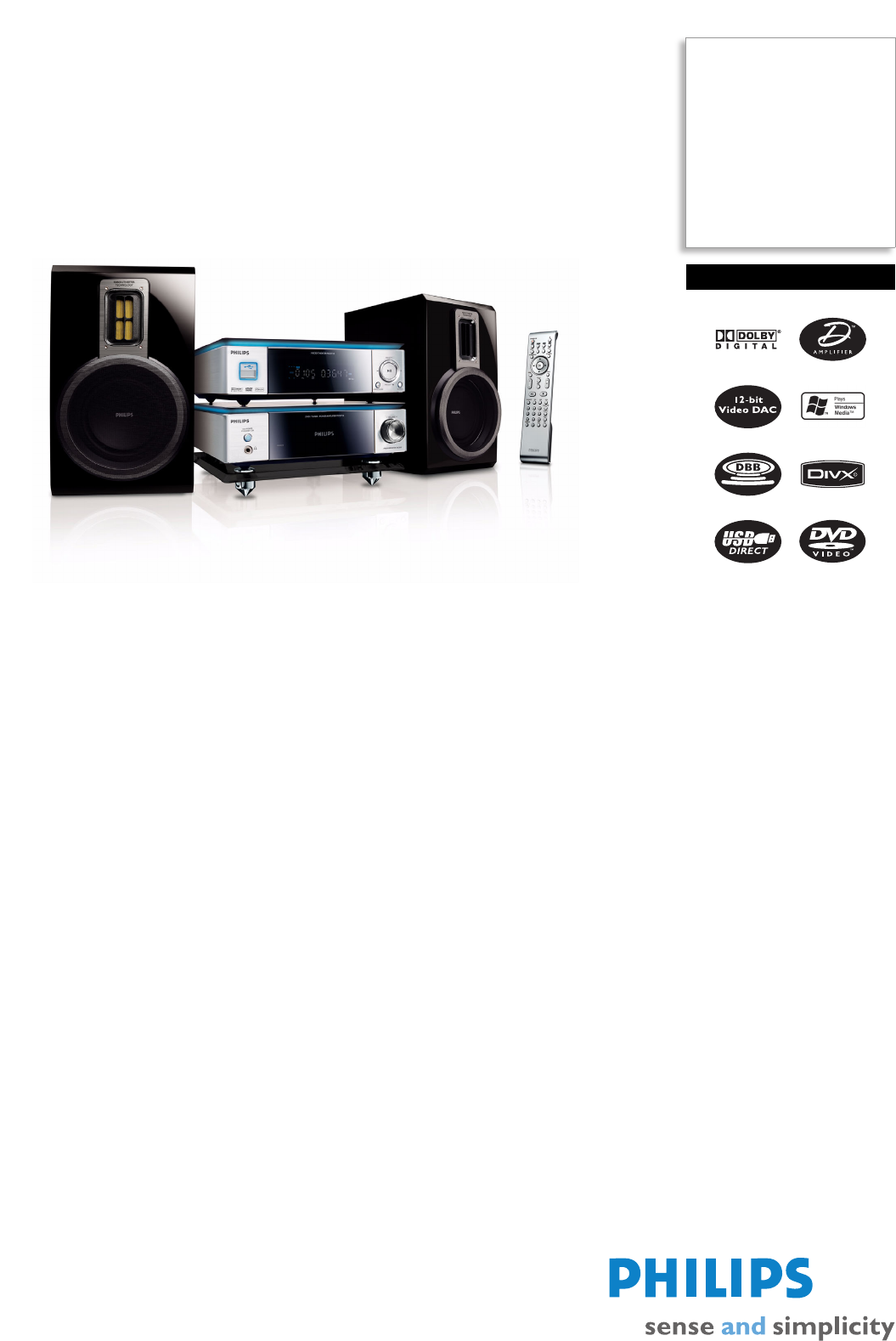 philips home theater system mcd716 12 user guide manualsonline com rh audio manualsonline com Philips Flat TV Manual Philips TV User Manual