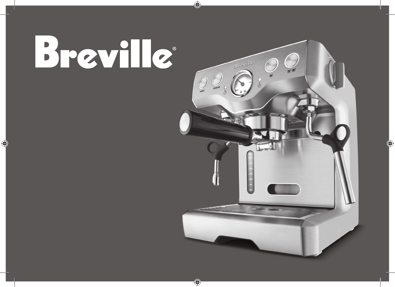 Breville Coffee Maker Descale Instructions : Breville Coffeemaker BES830XL User Guide ManualsOnline.com