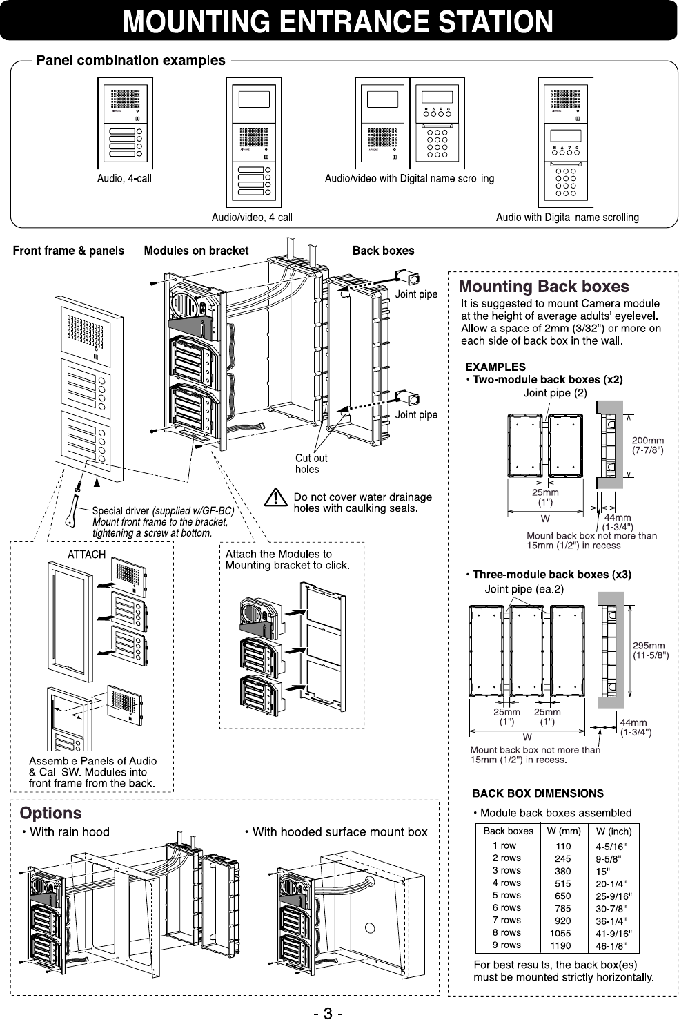 Page 3 Of Aiphone Intercom System Gf Bc User Guide Manualsonlinecom Wiring Diagram 12
