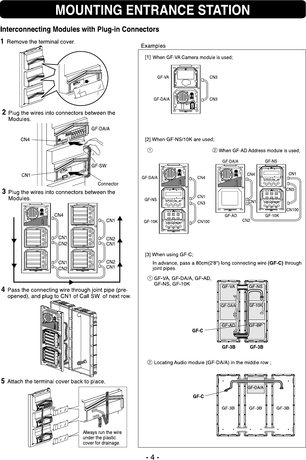 Page 4 Of Aiphone Cordless Telephone Gf Bc User Guide Wiring Diagram 12
