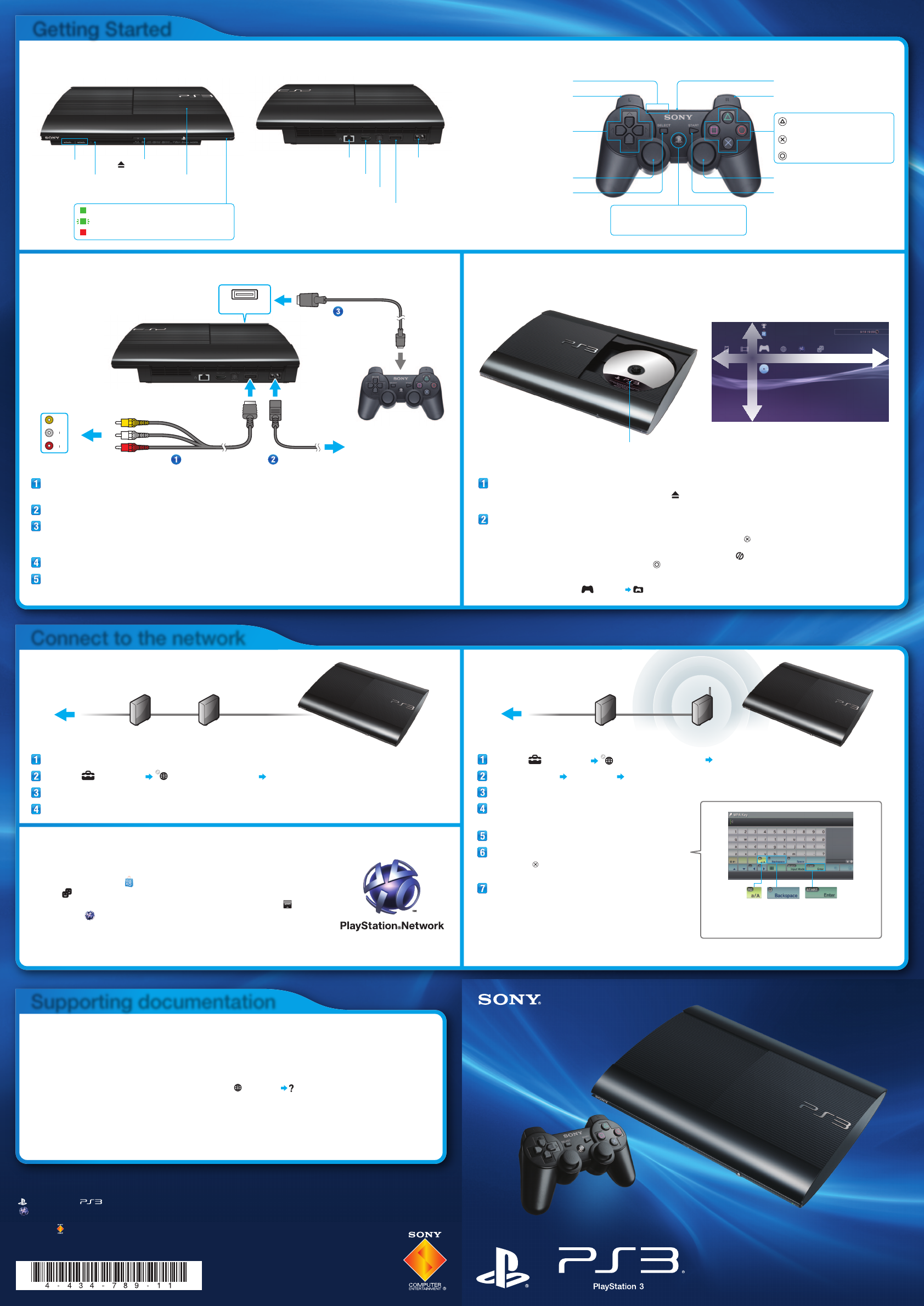 sony video game console cech 4001b user guide playstation move user guide PlayStation 1 Instruction Manual