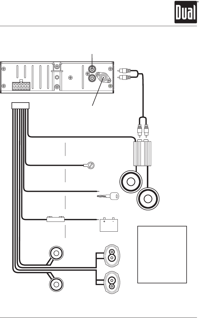 Xd1228 on Car Audio System Wiring Diagram