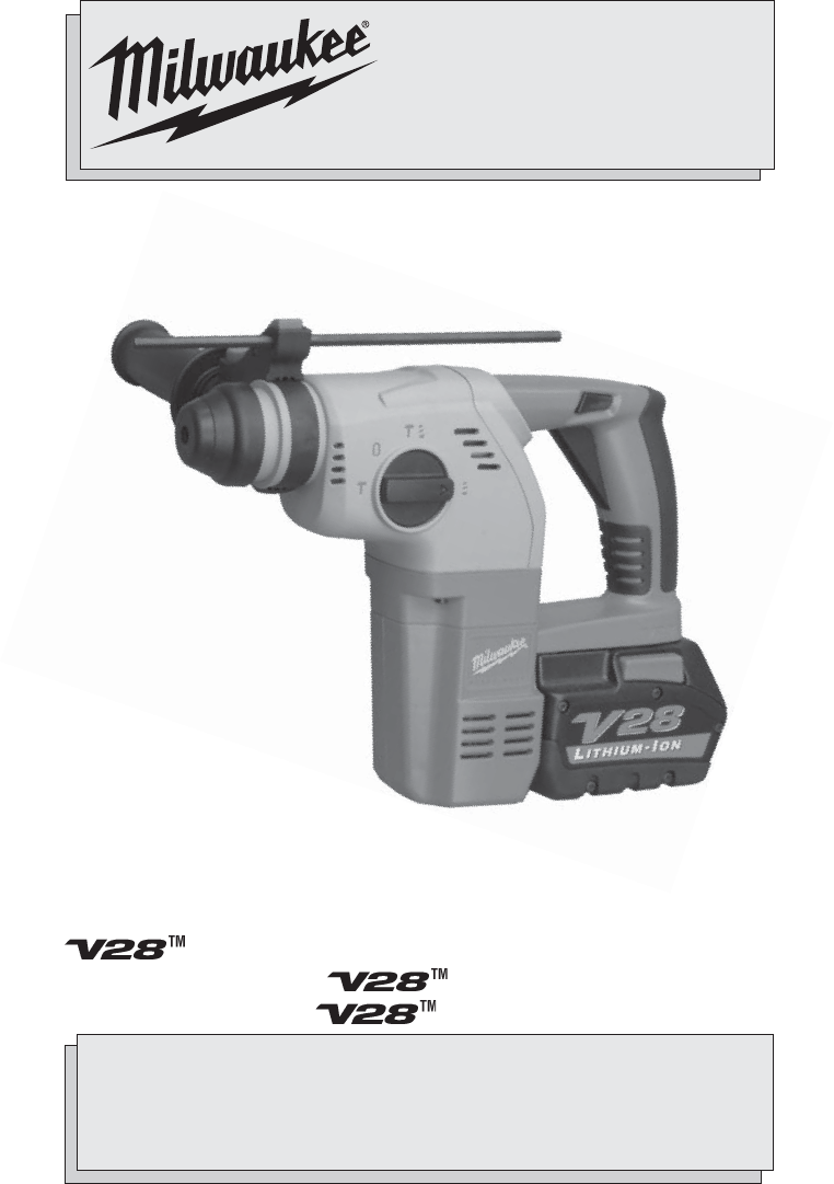 milwaukee power hammer 0756 20 user guide manualsonline com Philips User Guides Philips Universal Remote User Manual