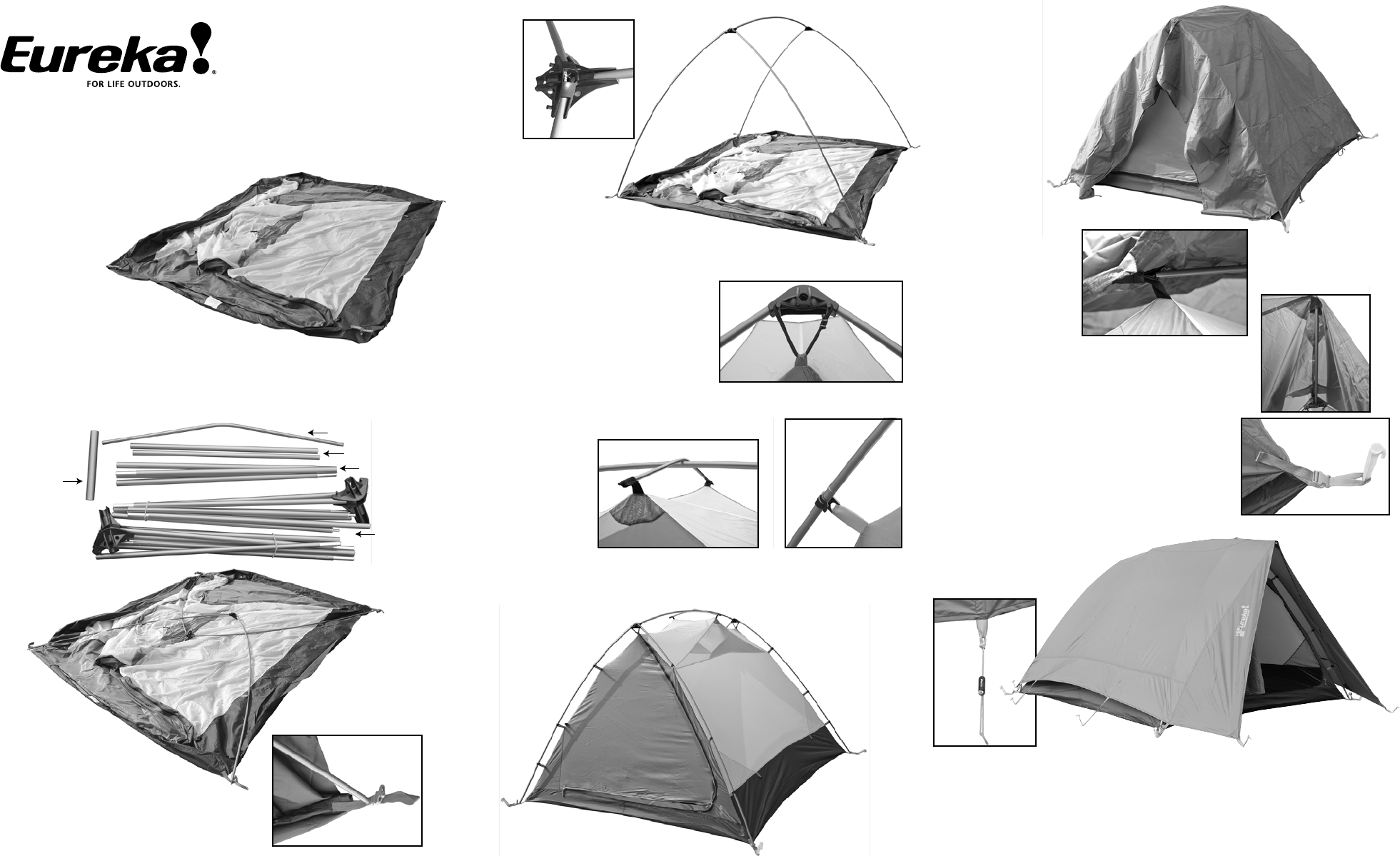 Tents Timberline SQ Outfitter Tent User Manual  sc 1 st  Fitness u0026 Sports - ManualsOnline.com & Eureka! Tents Tent Timberline SQ Outfitter User Guide ...
