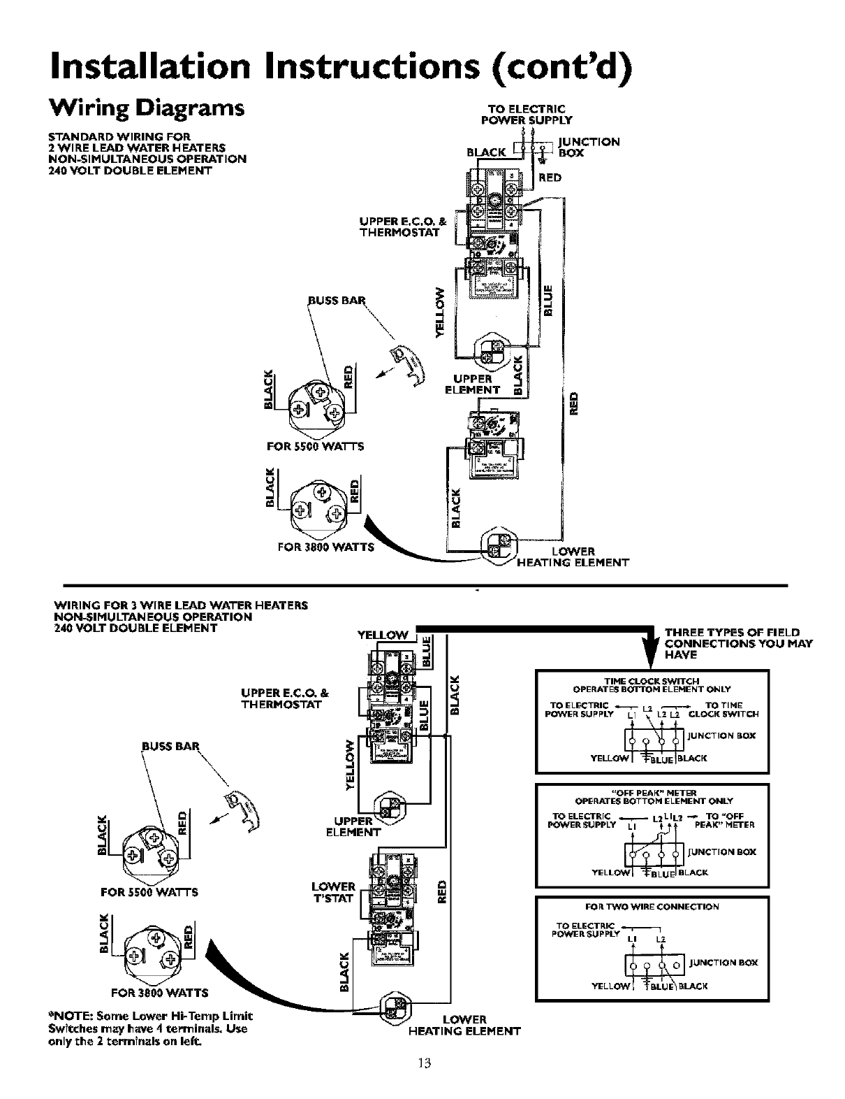 Sears water heater installation sears water heater wiring diagram english regions map ccuart Images