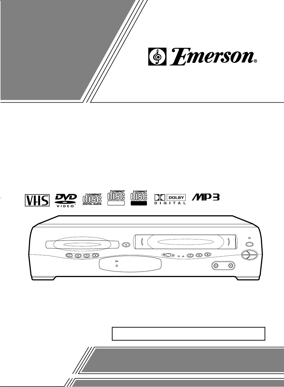 emerson dvd vcr combo ewd2203 user guide manualsonline com rh tv manualsonline com