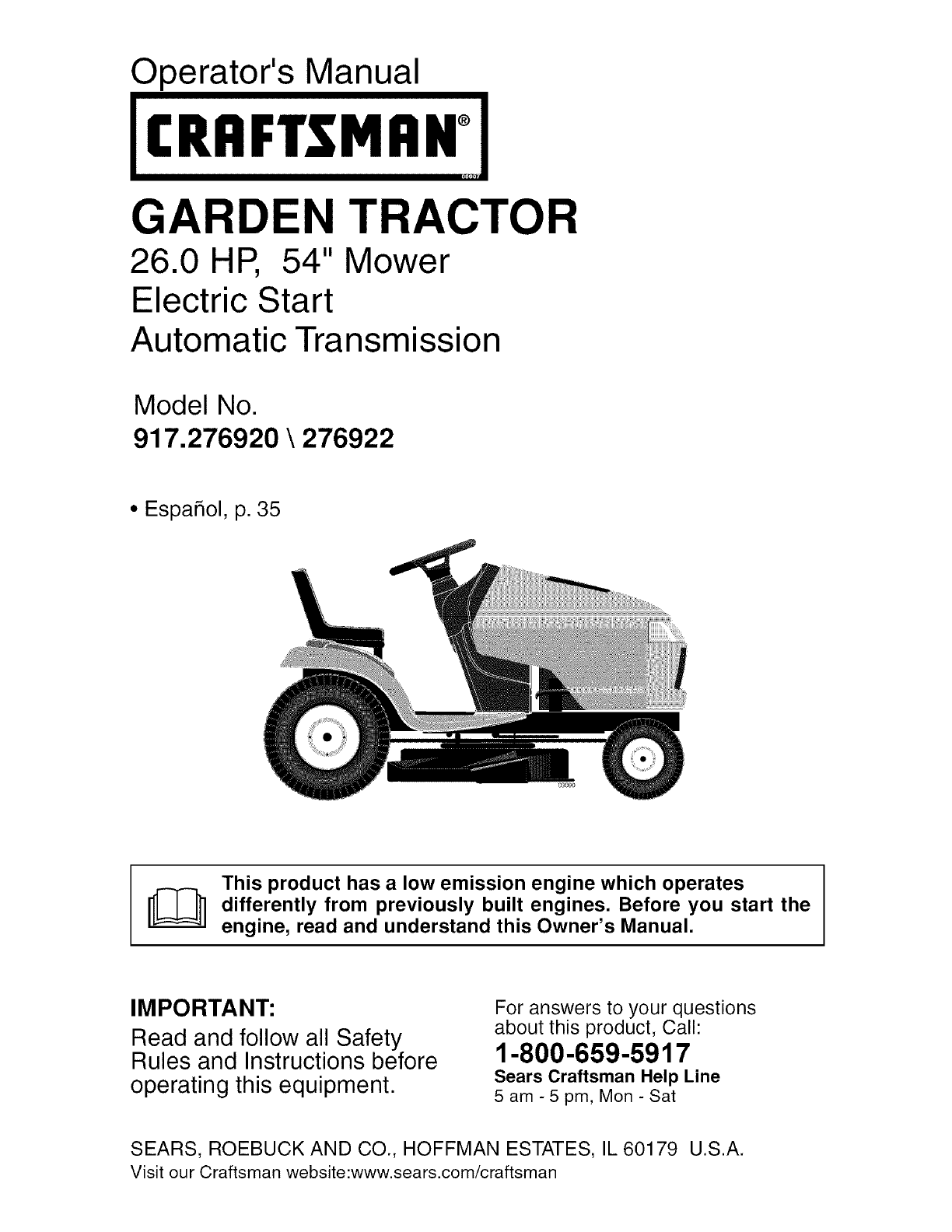 f19092f1 187b 4988 b623 7c6ea8bc6e04 bg1 craftsman lawn mower 917 276920 user guide manualsonline com craftsman dgs 6500 wiring diagram at soozxer.org