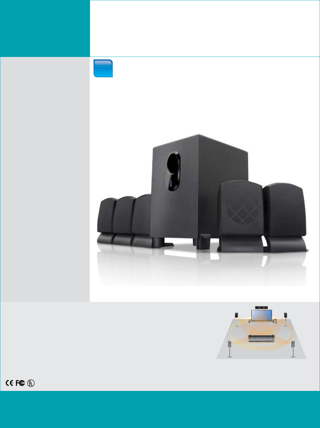 Coby Electronic Speaker System Csp96 User Guide