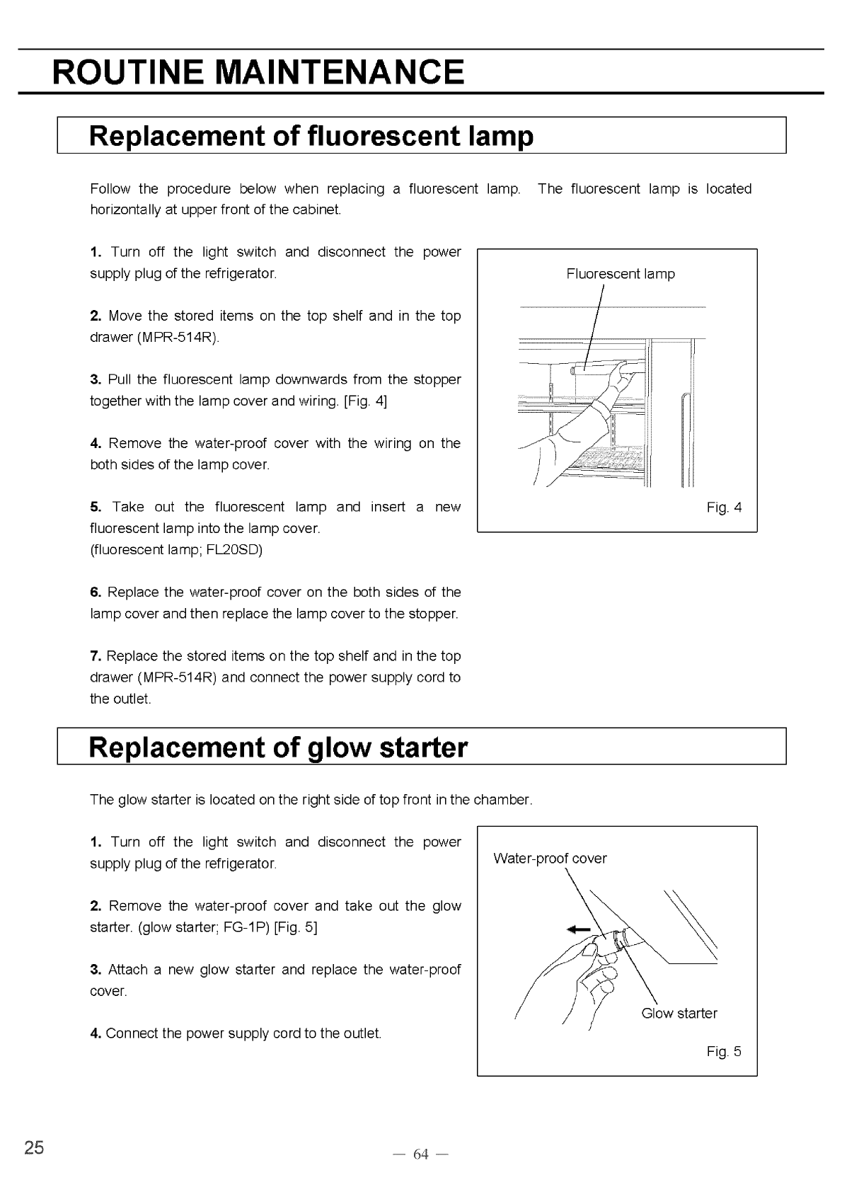 Page 26 Of Sanyo Refrigerator Mpr 514 User Guide Manualsonlinecom Wiring Aac Plug 45