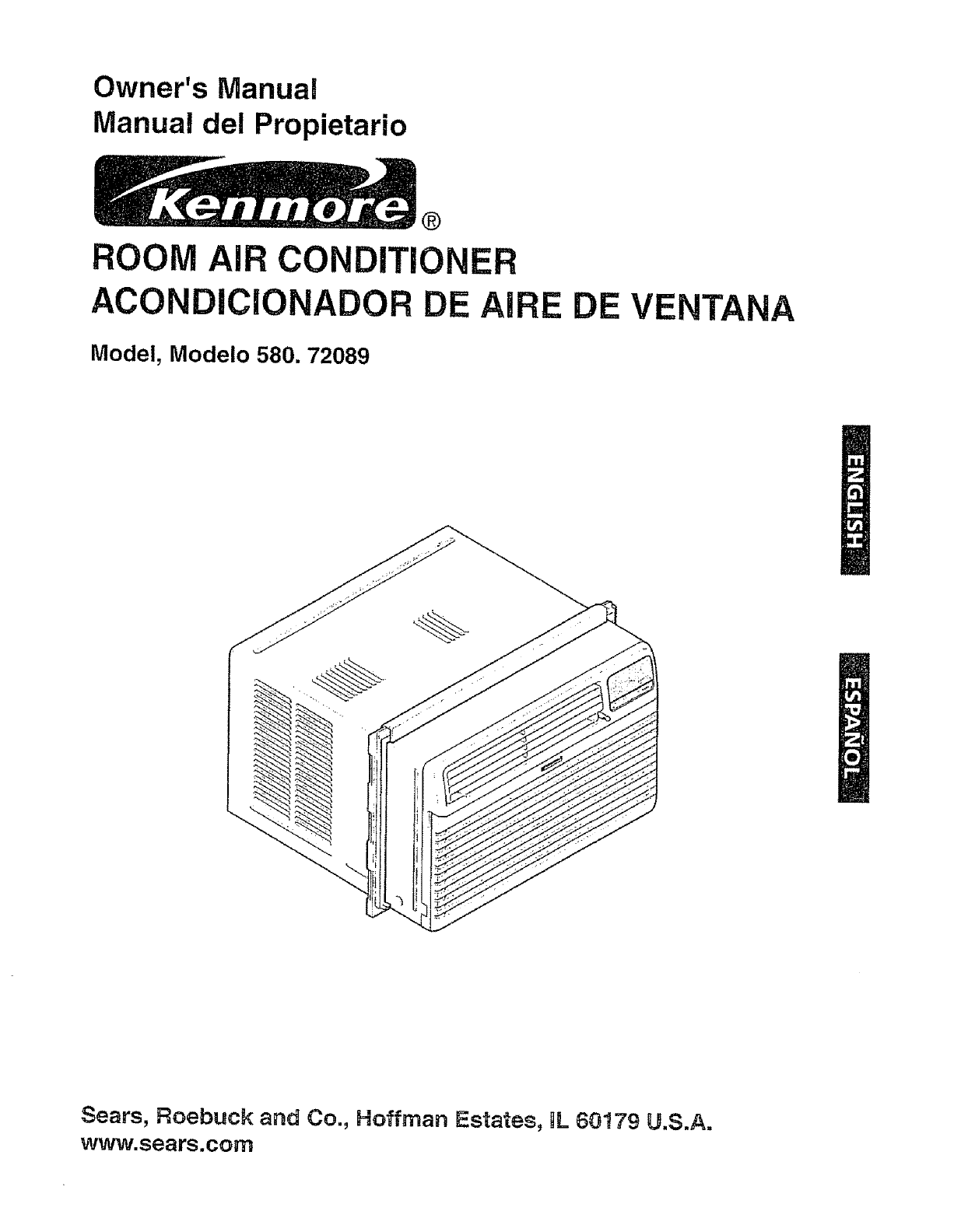 Kenmore Air Conditioner 580. 72089 User Guide ManualsOnline.com #202020
