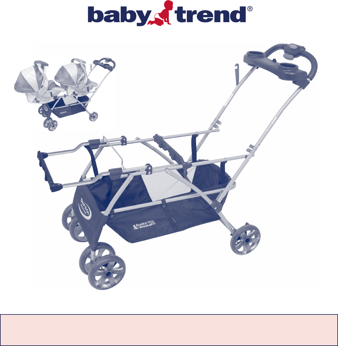baby trend stroller 1305tw user guide. Black Bedroom Furniture Sets. Home Design Ideas