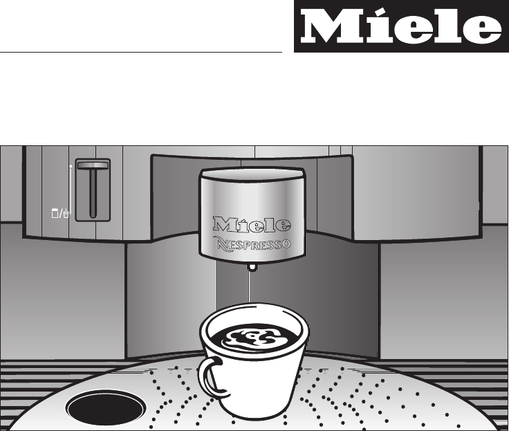 miele coffee machine manual cva 620