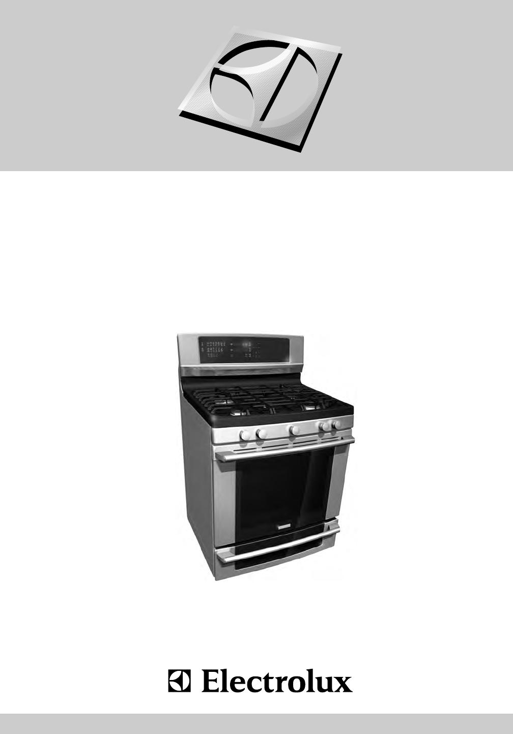 Electrolux range 316471400 user guide for Kitchen set electrolux