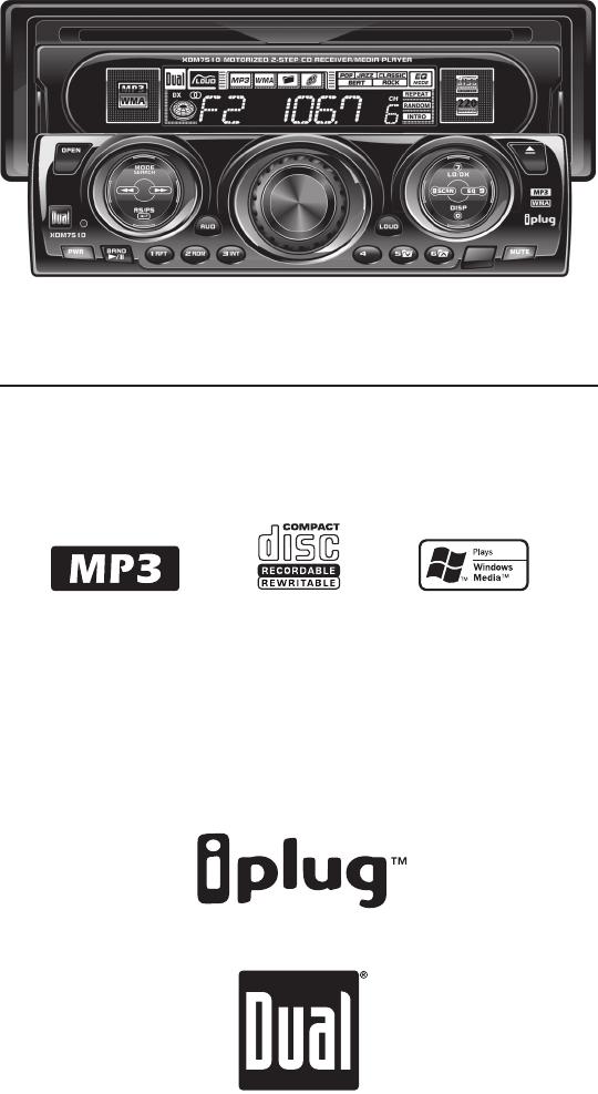 dual car stereo system xdm7510 user guide manualsonline com rh caraudio manualsonline com