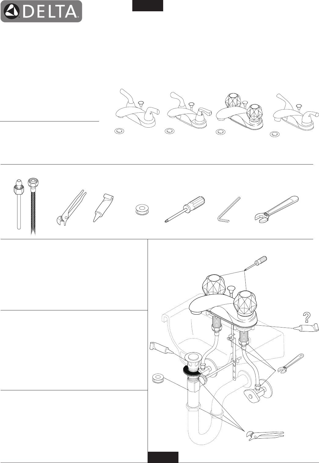 Cool Delta Bathroom Faucets Wallpaper Manual Guide