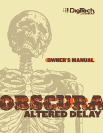Musical Toy Instrument Obscura Altered Delay