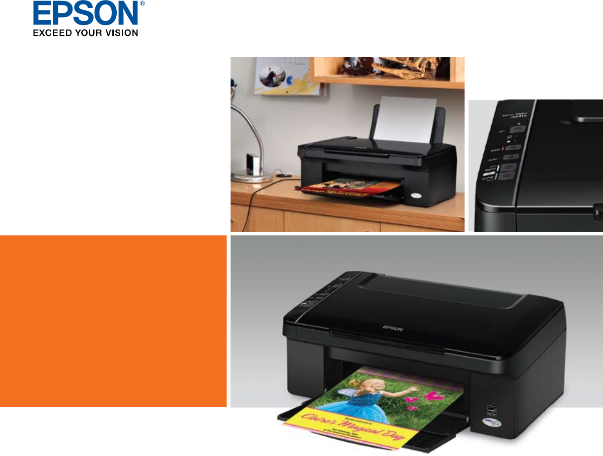 Epson NX115 All in One Printer User Manual