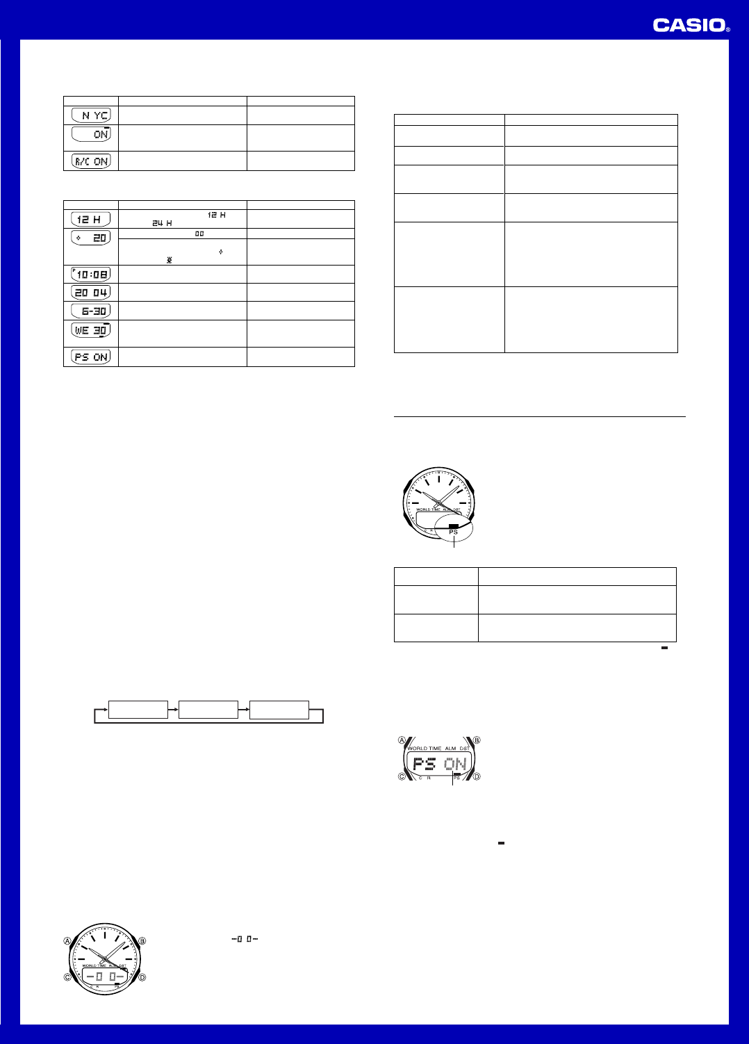 page 5 of casio watch 5052 user guide manualsonline com rh fitness manualsonline com casio wave ceptor 5052 manual pdf casio wave ceptor 5052 user manual