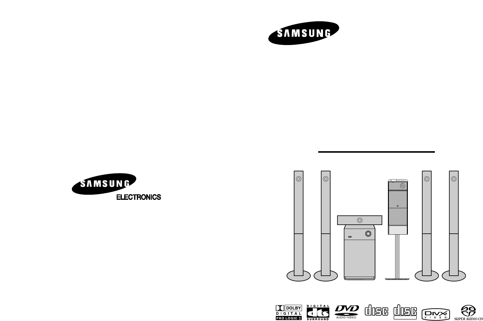 Samsung Home Theater System Ht