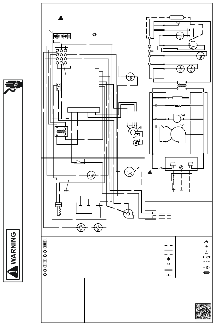 page 12 of goodman mfg furnace rt6621031r2 user guide Goodman Heat Pump Thermostat Wiring Diagram Goodman Gas Furnace Wiring Diagram