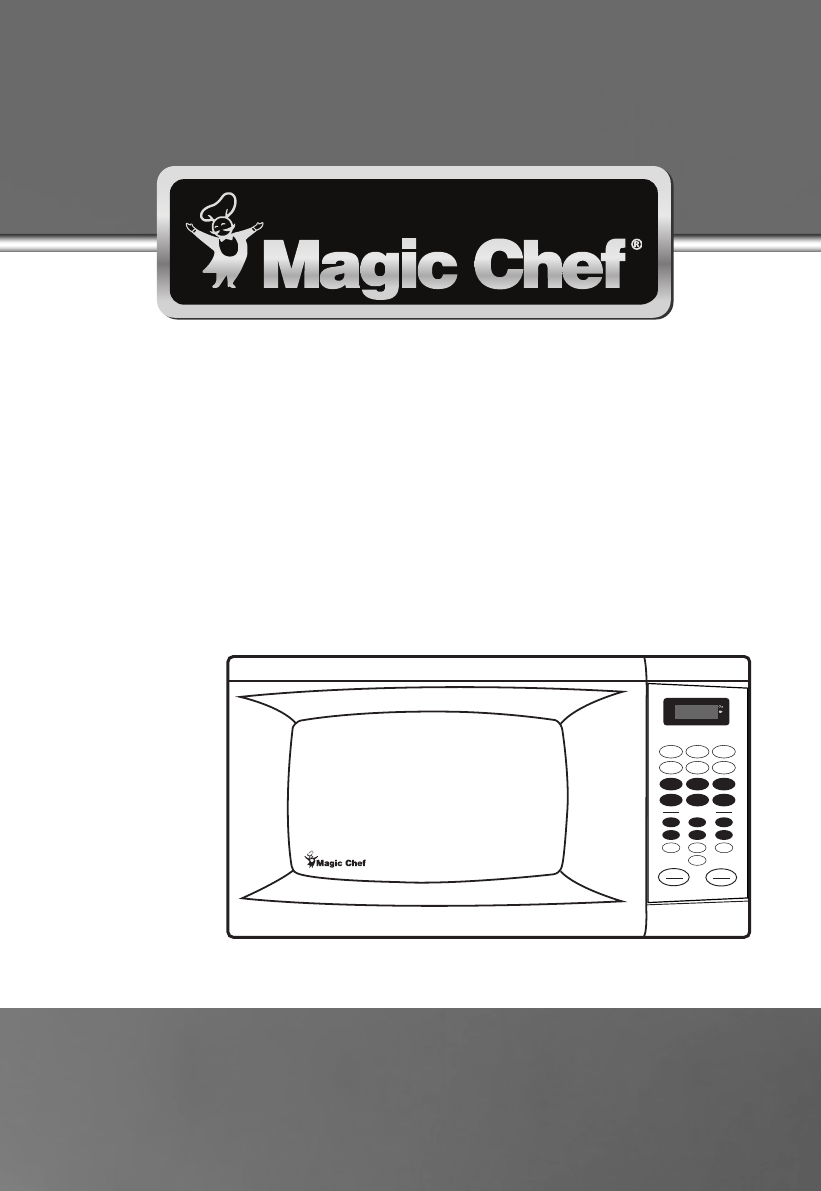 magic chef microwave oven mcm990b user guide manualsonline com rh kitchen manualsonline com chef oven manual user manual Kenmore Elite Oven Manual