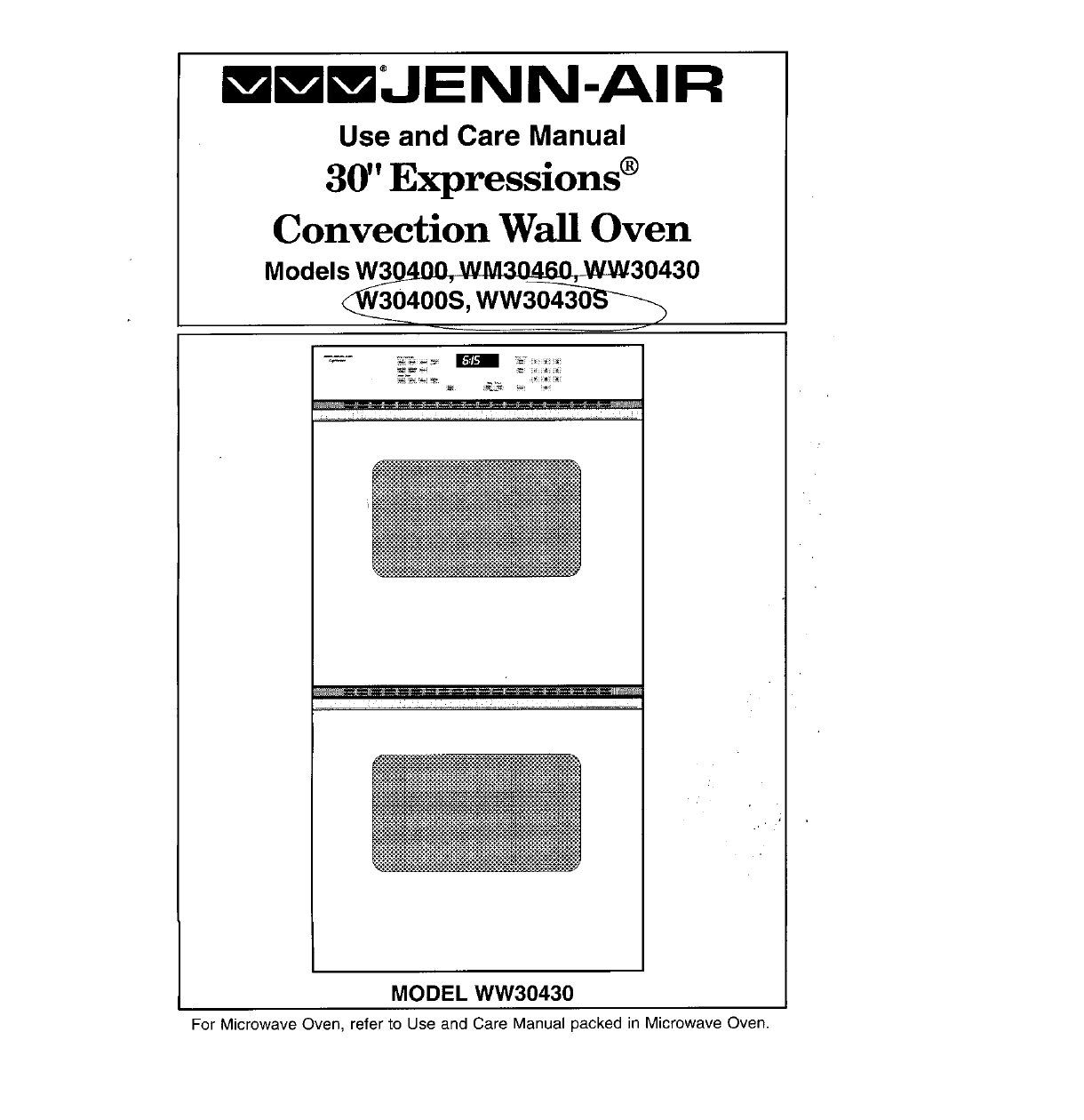 jenn air convection oven w30400 user guide manualsonline com rh kitchen manualsonline com jenn-air dishwasher manual troubleshooting Jenn-Air Service Manual