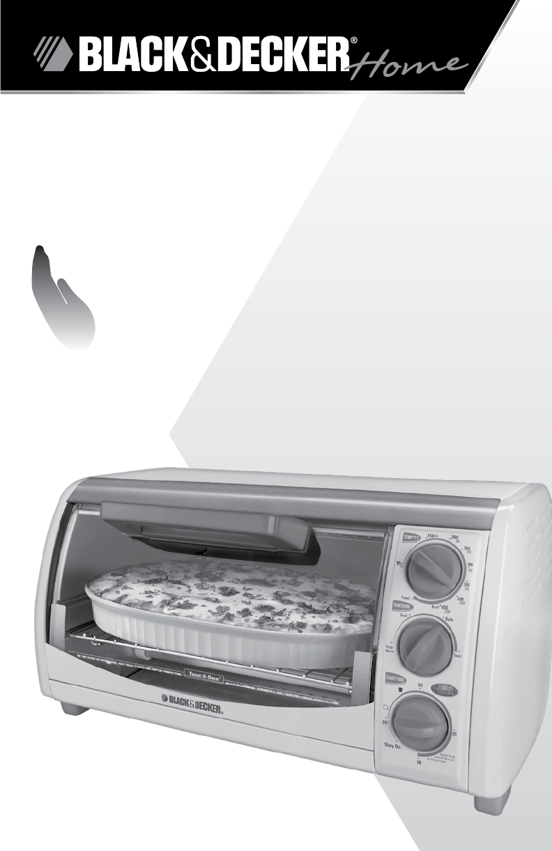Black Decker To1322sbd Toaster Oven
