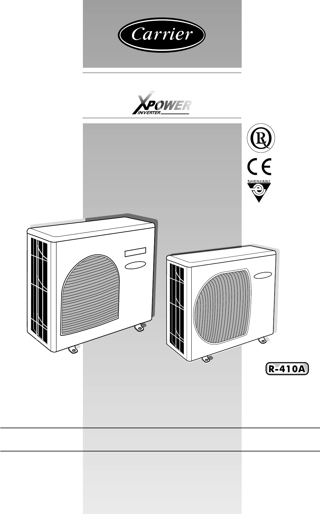 carrier heat pump 38vyx050 user guide manualsonline com Carrier Heat Pump Package carrier infinity heat pump owner's manual