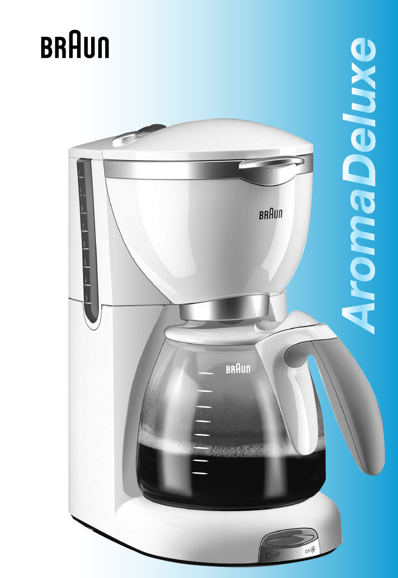 Braun Coffeemaker KF550 User Guide ManualsOnline.com