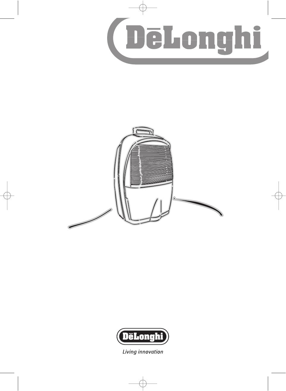 delonghi dehumidifier dec 21 user guide manualsonline com rh laundry manualsonline com delonghi dehumidifier de220 user manual delonghi dehumidifier instruction manual