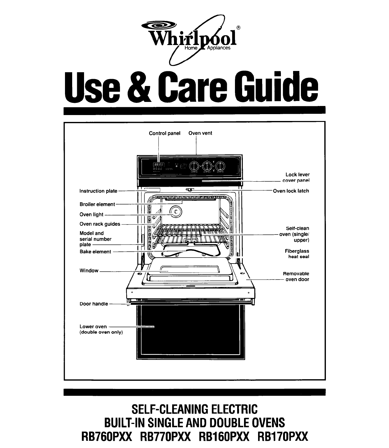 Double Oven Manual Guide