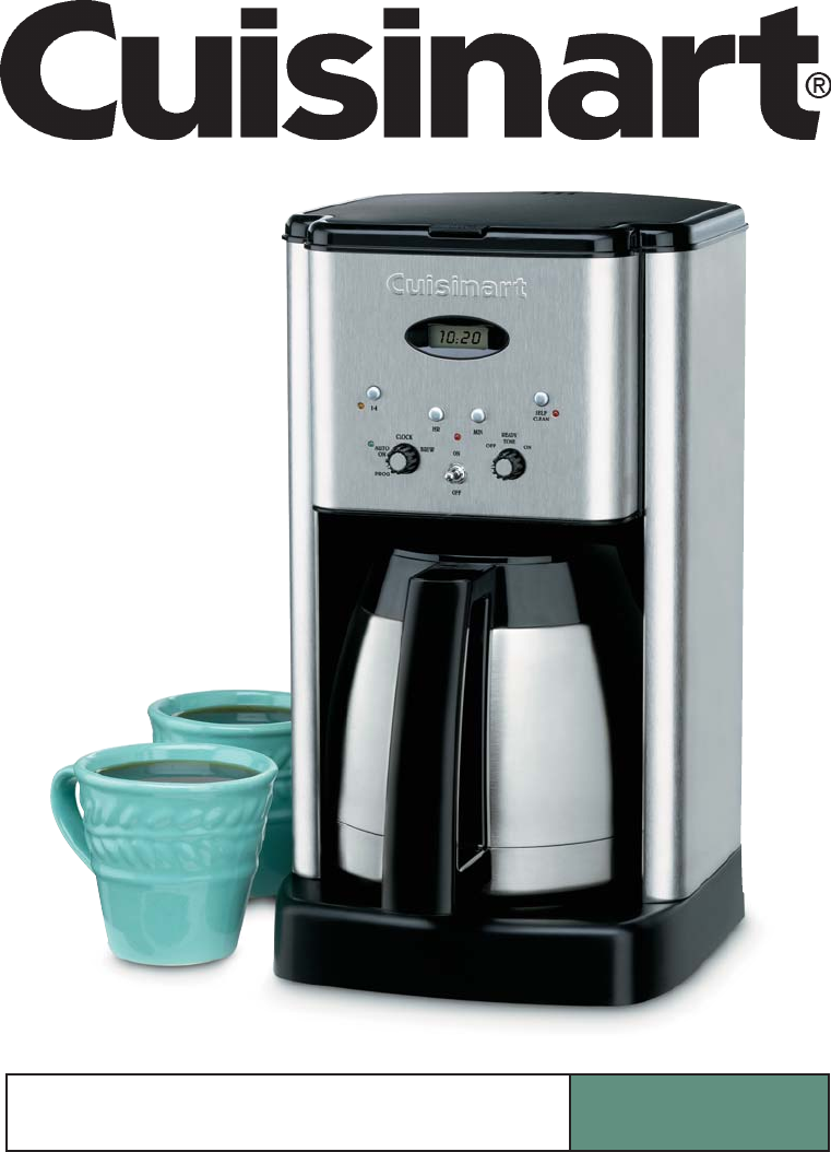 Cuisinart Coffee Maker Electrical Problems : Cuisinart Coffee Maker Troubleshooting clipart truck examples of house plans