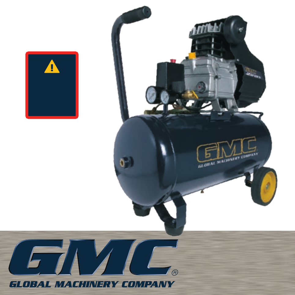 Global Machinery Company Air Compressor Eac40 User Guide