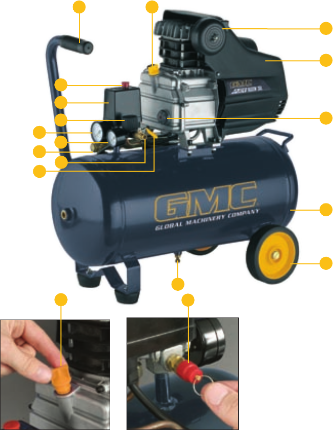 Oakley Gauge 8 >> Page 8 of Global Machinery Company Air Compressor EAC30 User Guide   ManualsOnline.com