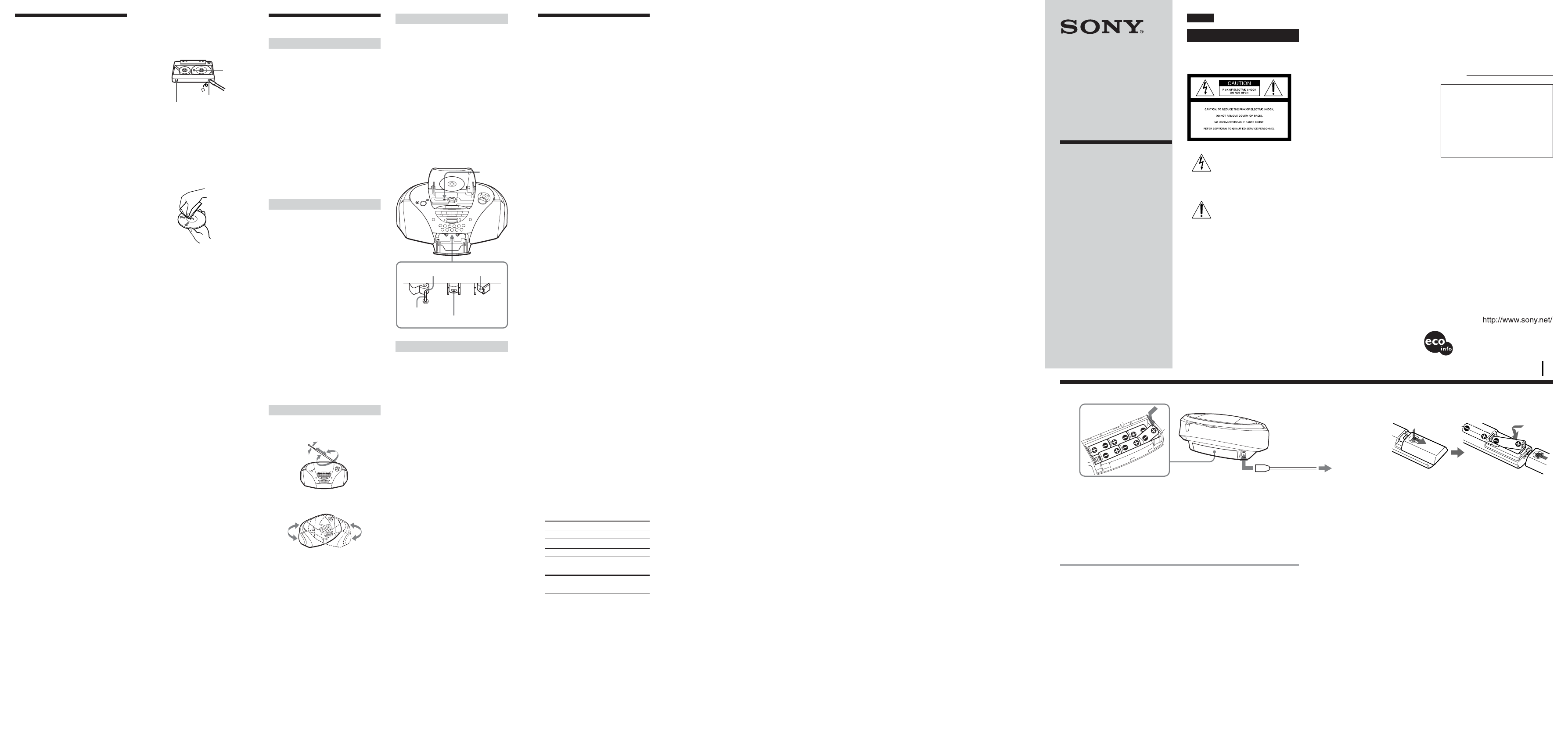 Sony Portable Cd Player Cfd S300 User Guide Manualsonlinecom Net O View Topic Bmw Reset Tool Circuit Diagram Please Check Manual