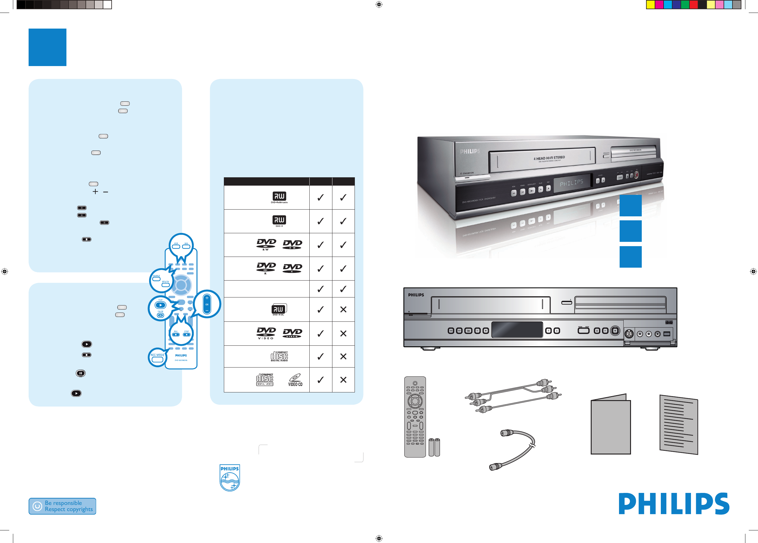 philips vcr dvdr3545v 37 user guide manualsonline com rh tv manualsonline com Philips Schematics Philips Product Manuals