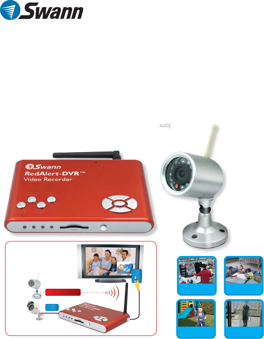 swann security camera sw242 wdw user guide manualsonline com rh camera manualsonline com Swann DVR Recorder Swann DVR Software