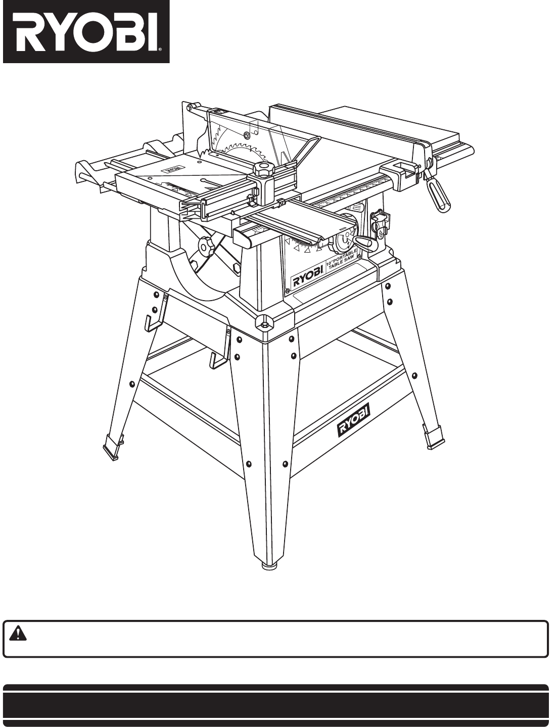 Ryobi Table Saw Manual Pictures To Pin On Pinterest Pinsdaddy