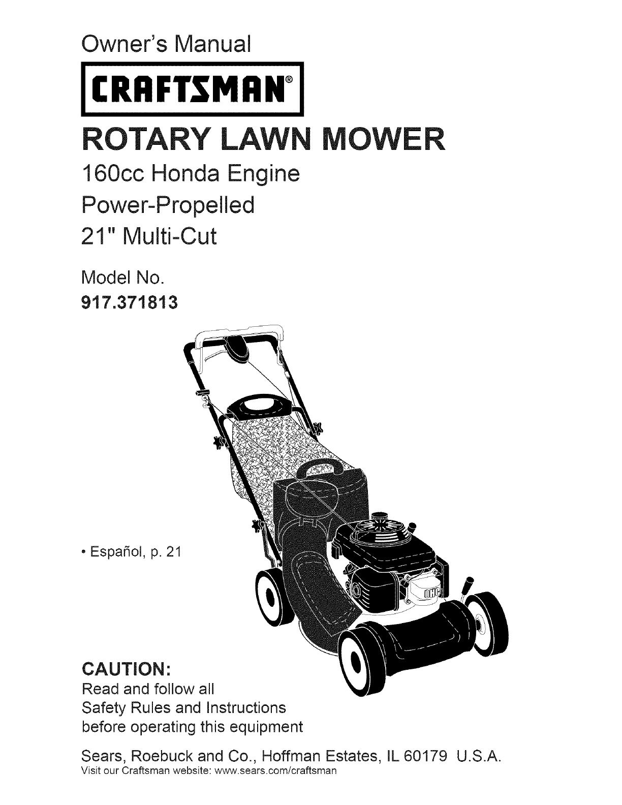 Free Craftsman Lawn Mower User Manuals Manualsonlinecom